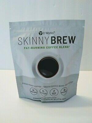 $49.99 • Buy It Works! Skinny Brew Keto Coffee Carb Management French Roast Sealed 15 Packets