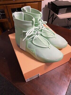 $700 • Buy VNDS Nike Air Fear Of God 1 Size 10.5 Frosted Spruce [WORN TWICE]