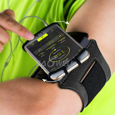 AU25.99 • Buy 360° Rotation Sports Running Jogging Gym Armband Arm Band Case Holder For Phones