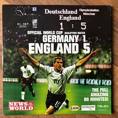 £2 • Buy Germany 1 England 5. Football World Cup 2002 Qualifying. Dvd