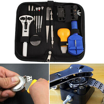 $ CDN15.62 • Buy Watch Repair Tool Kit Link Remover Spring Bar Tool Case Opener Set  New Premium