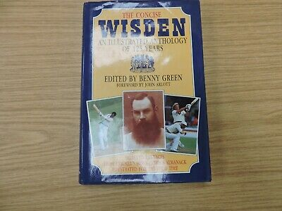 £5.99 • Buy The Concise Wisden,an Illustrated Anthology Of 125 Years ,benny Green #k65