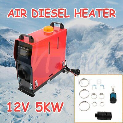 $ CDN285.77 • Buy 5KW 12V Air Diesel Heater 1 Hole All In One LCD Monitor For Bus Truck Quiet