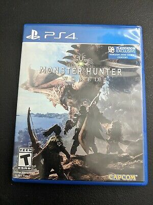 AU21.29 • Buy Monster Hunter World Black Sony Playstation 4 PS4 LN PERFECT Condition COMPLETE