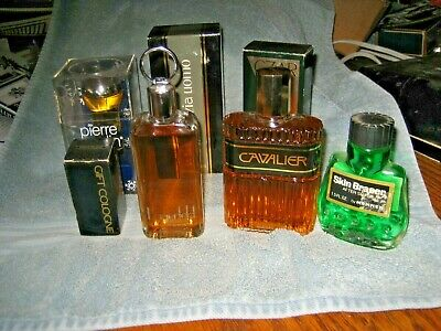 $12.99 • Buy Vintage Lot Of 7 Men's Cologne & Aftershave Pierre Cardin Czar Krizia Uomo Lag