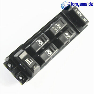 $15.31 • Buy Front Master Power Window Switch Driver Side Left LH For Chevy GMC Pickup 4 Door