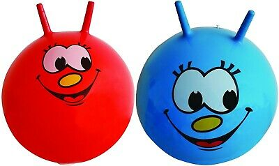 £9.89 • Buy Space Hopper 60CM Exercise Bouncing Ball Kids Toys Age Play Game New Blue Red