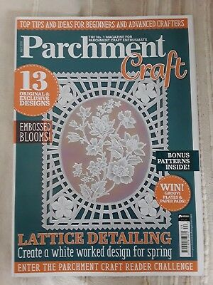 Parchment Craft Magazine April 2018 • 2.99£