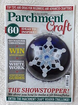 Parchment Craft Magazine November 2018 • 2.99£