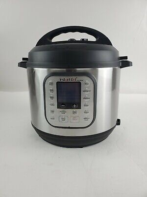 $49.95 • Buy Instant Pot Duo Nova 60 7-in-1, One-Touch Multi-Cooker - Silver 6-Quart