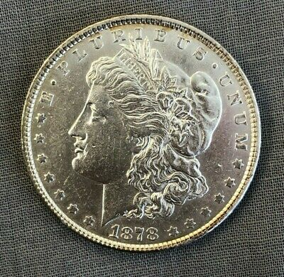 $51 • Buy 1878-P Morgan Silver Dollar (7 Tail Feathers)