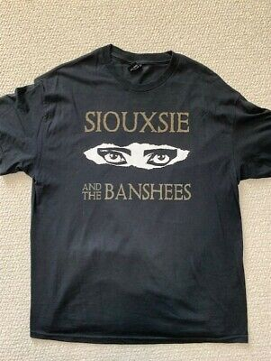 Siouxsie And The Banshees Black T-shirt   Single Stitch+rare    Awesome Graphics • 178.81£