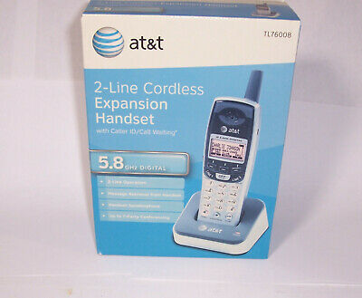 $ CDN117.32 • Buy At&t Tl76008 5.8 Ghz 2 Line Cordless Phone Expansion Handset For Tl76108