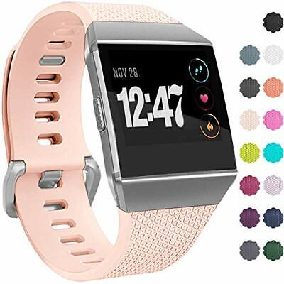 $ CDN12.34 • Buy Fitbit Ionic Watch Replacement Sport Bands Waterproof Strap Aluminium  BuckleSm