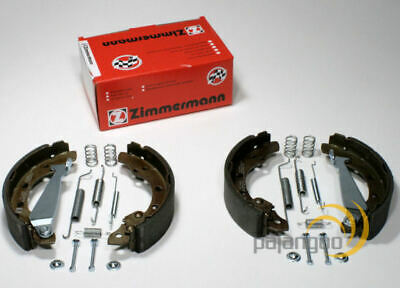 VW T4 - Zimmermann Brake Shoes With Lever Accessories For Rear Die Rear Axle • 55.68£