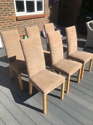 6 X John Lewis Dining Chairs, Collection Only (possible Local Delivery). • 41£