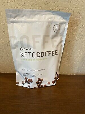 $29.99 • Buy Brand New It Works New And Improved Keto Coffee 15 Packets