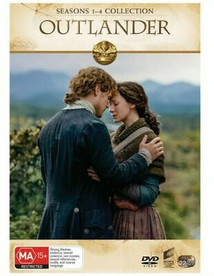 AU119.20 • Buy Outlander Complete Series Season 1-4 1 2 3 4 NEW DVD Box Set Region 4 R4
