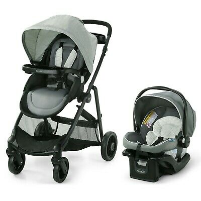 Graco Modes Element 3-in-1 Travel System, Moran (Stroller & Car Seat)~New In Box • 179.21£