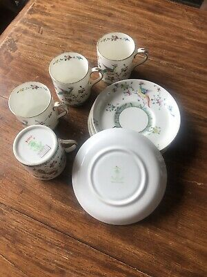 Crown Staffordshire - Cup & Saucer X4  • 0.99£