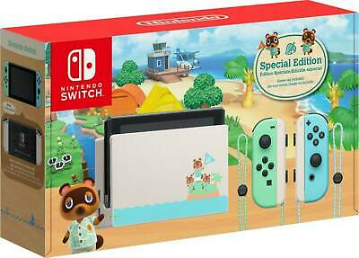 AU590 • Buy Nintendo Switch Animal Crossing Special Edition Console & Animal Crossing Game