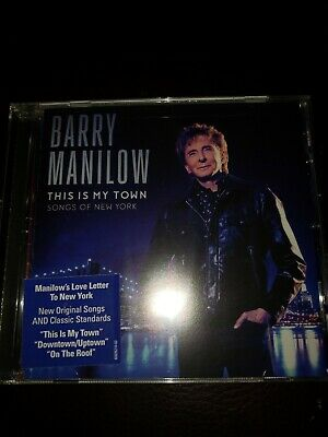 Barry Manilow This Is My Town Songs Of New York Cd 2017  • 5£