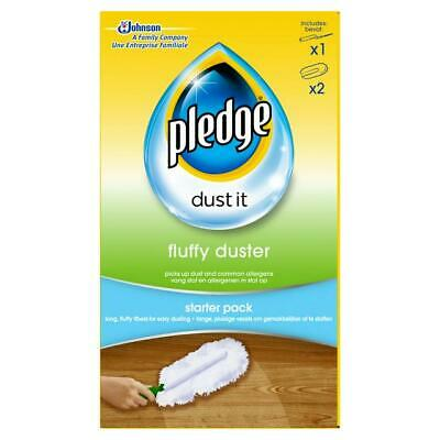 Pledge Fluffy Duster - Starter Kit Dusting Cleaning Cloth Pack - Mrs Hinch! • 7.49£