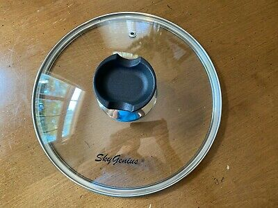 $7 • Buy Sky Genius 9 Inch Tempered Glass Lid For 6 Quart Instant Pot With Spoon Holder