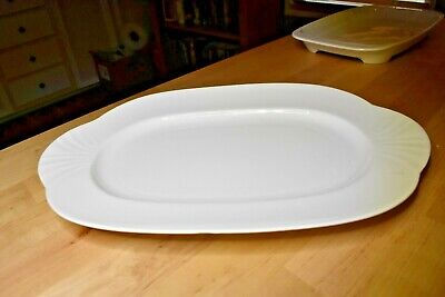 Excellent Condition All White Villeroy & Boch Arco Weiss Oval Platter 13.5  • 23.57£