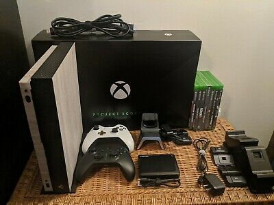 $1247 • Buy Microsoft Xbox One X 1TB Console - Black - Complete Bundle (Games & Extras)