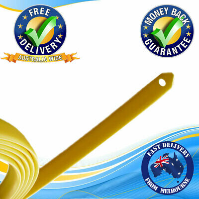 AU18.75 • Buy Yellow Tongue Electrician Cabling Tool Cable Cavity Feed Snake Fish Tape 3.6m
