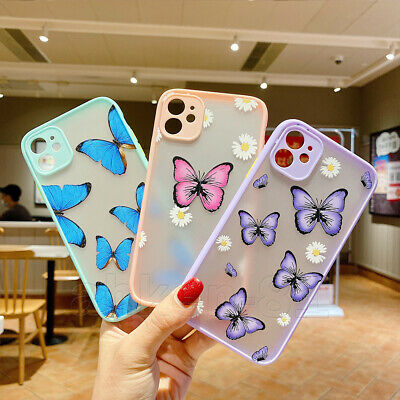 AU8.99 • Buy Camera Protect Butterfly Hard Case Cover For IPhone SE 2020 11 Pro Max XS XR 8 7