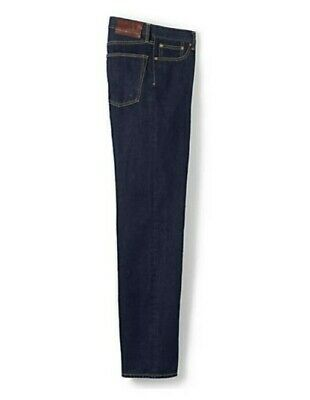 NEW Men's Traditional Fit Ringspun Jeans-Size 46x32 • 21.46£