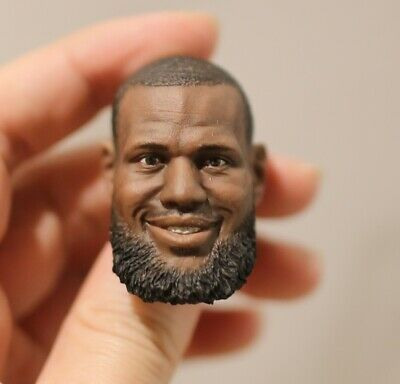$33 • Buy 1/6 FIGURE Head LeBron James 2.0 Fit Enterbay Lakers Cavaliers 23 HEAD