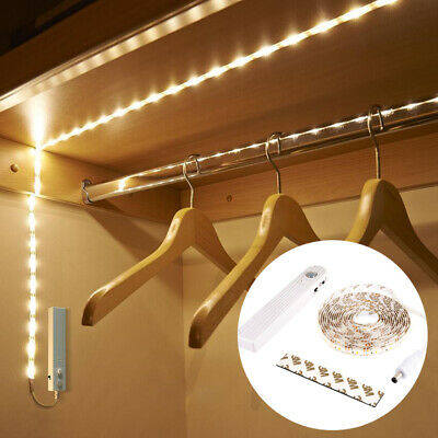 $11.26 • Buy PIR Motion Sensor LED Strip Light Under Cabinet Night Light Battery Power LD1738