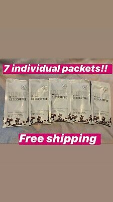 $16.99 • Buy It Works FAT BURNING Keto Coffee/ Sealed 7 Single Packets/ Free Shipping 🚚🚚