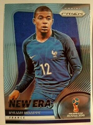 $ CDN89.50 • Buy 2018 PANINI PRIZM WORLD CUP SOCCER KYLIAN MBAPPE Card# 9 NEW ERA FRANCE