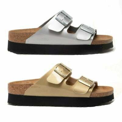 Papillio By Birkenstock ARIZONA 1015874 Nar Ladies Womens Two Strap Sandals • 49.69£