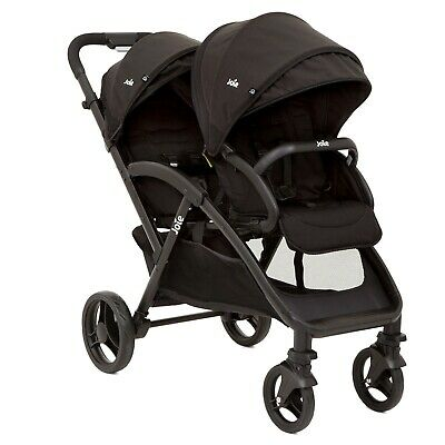 £100 • Buy JOIE Double Pushchair, Black And Grey, Excellent Condition, Includes Rain Cover.