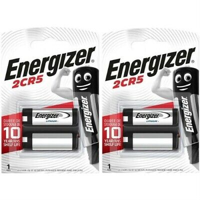 $ CDN15.36 • Buy 2 X Energizer 2CR5 6V Lithium Photo Battery 245 EL2CR5 DL245