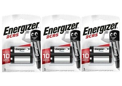 $ CDN22.19 • Buy 3 X Energizer 2CR5 6V Lithium Photo Battery 245 EL2CR5 DL245
