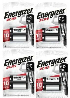 $ CDN27.32 • Buy 4 X Energizer 2CR5 6V Lithium Photo Battery 245 EL2CR5 DL245