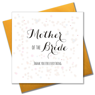 £3.25 • Buy Wedding Card, Colour Dots, Mother Of The Bride Thank You