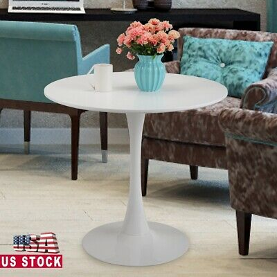 $1.25 • Buy Coffee Table 32  Round Tulip Dining Table In White Elegant Furniture Wood