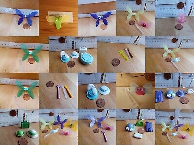// Playmobil New Spares Fairy Figures Capes Wings Wands Hats Rose Buds • 2.90£