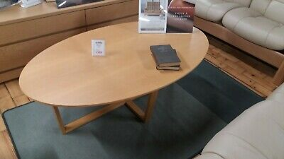 Skovby SM231 Coffee Table In Oak Lacquer Finish Ex-Display • 229£
