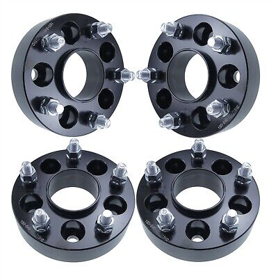 $138.49 • Buy 4x 2  Hubcentric Wheel Adapters 5x4.5 To 5x5 Fits Jeep JK JKU RIMS ON A TJ OR YJ