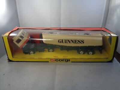 Corgi Major Toys No.1169 FORD `GUINNESS` Articulated Truck,Boxed Vintage Diecast • 34.99£