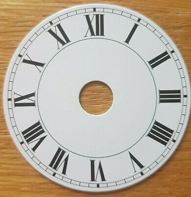 £7.95 • Buy NEW - 2 Inch Clock Dial Face - White - 54mm Roman Numerals - DL03
