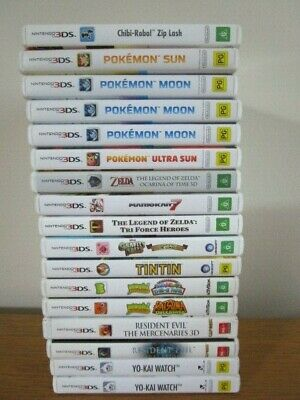 AU29 • Buy 3DS NINTENDO GAMES 3DS Game *Pick Your Own* Game PAL 3DS 2DS XL Nintendo Pokemon